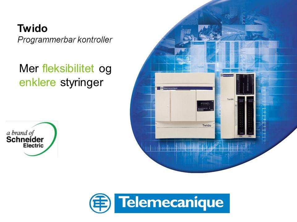 Twido Programmerbar kontroller