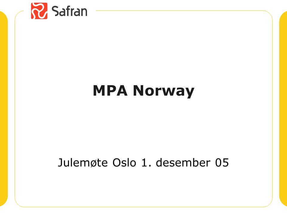 Julemøte Oslo 1. desember 05
