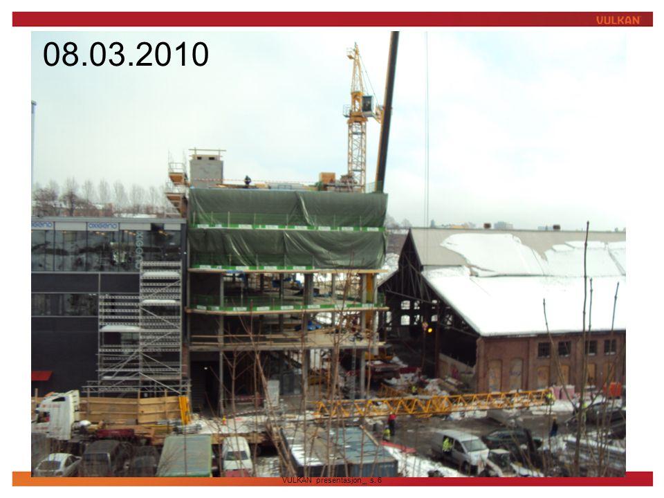 08.03.2010 Bilde fra byggeplass