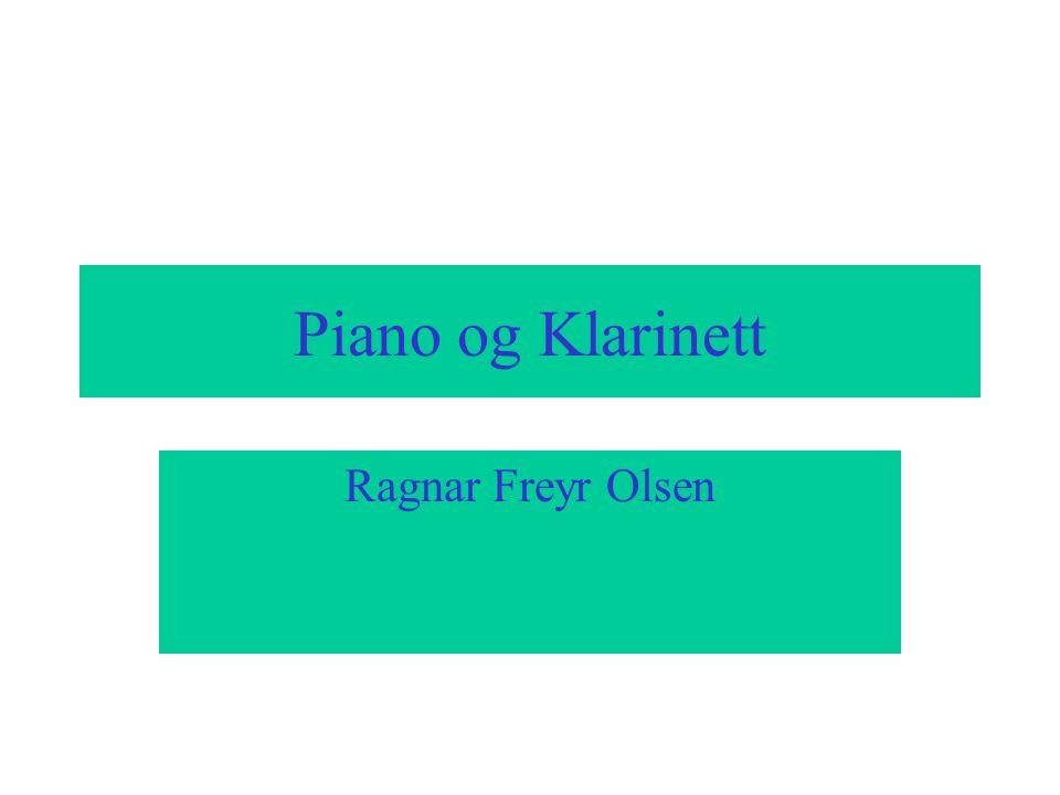 Piano og Klarinett Ragnar Freyr Olsen