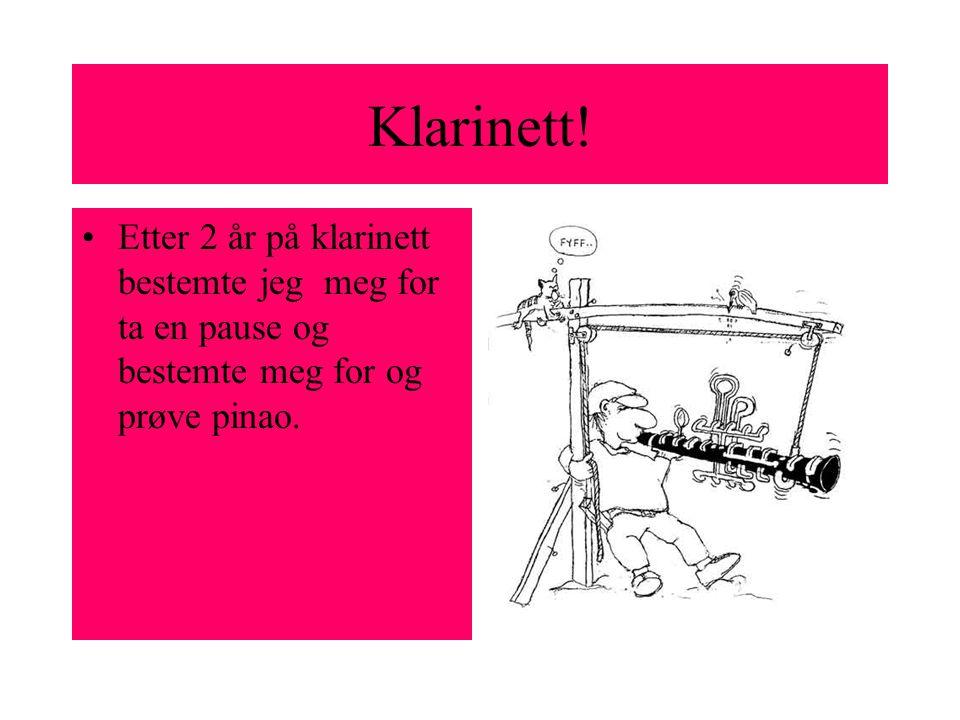 Klarinett.