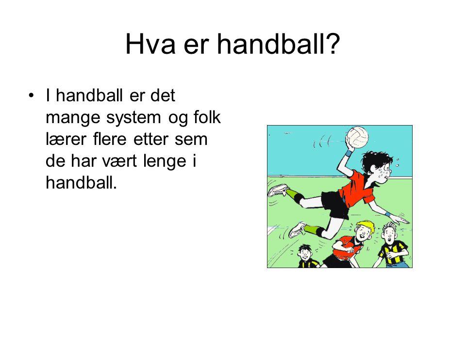 Hva er handball.