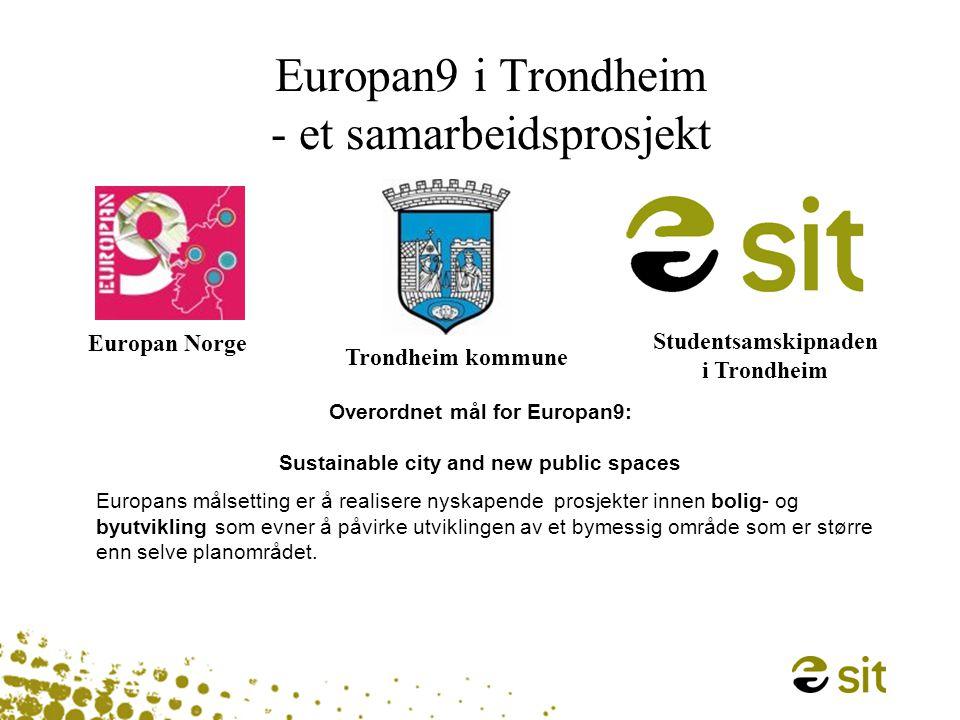 Europan9 i Trondheim - et samarbeidsprosjekt