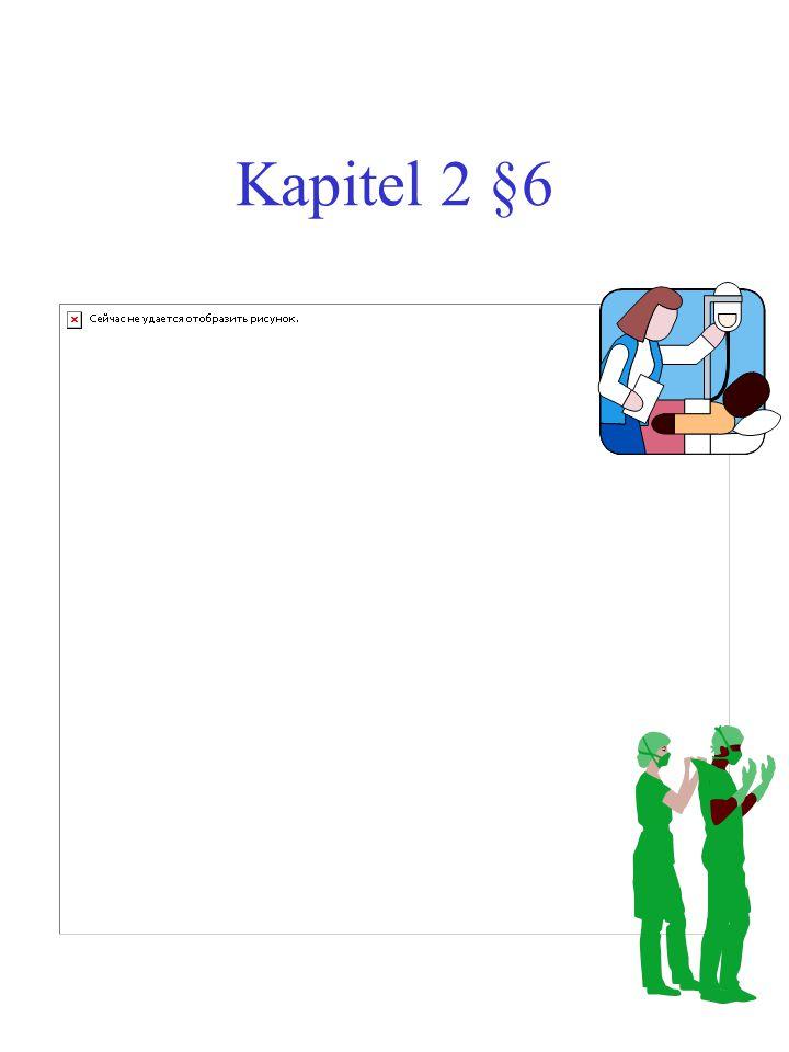Kapitel 2 §6