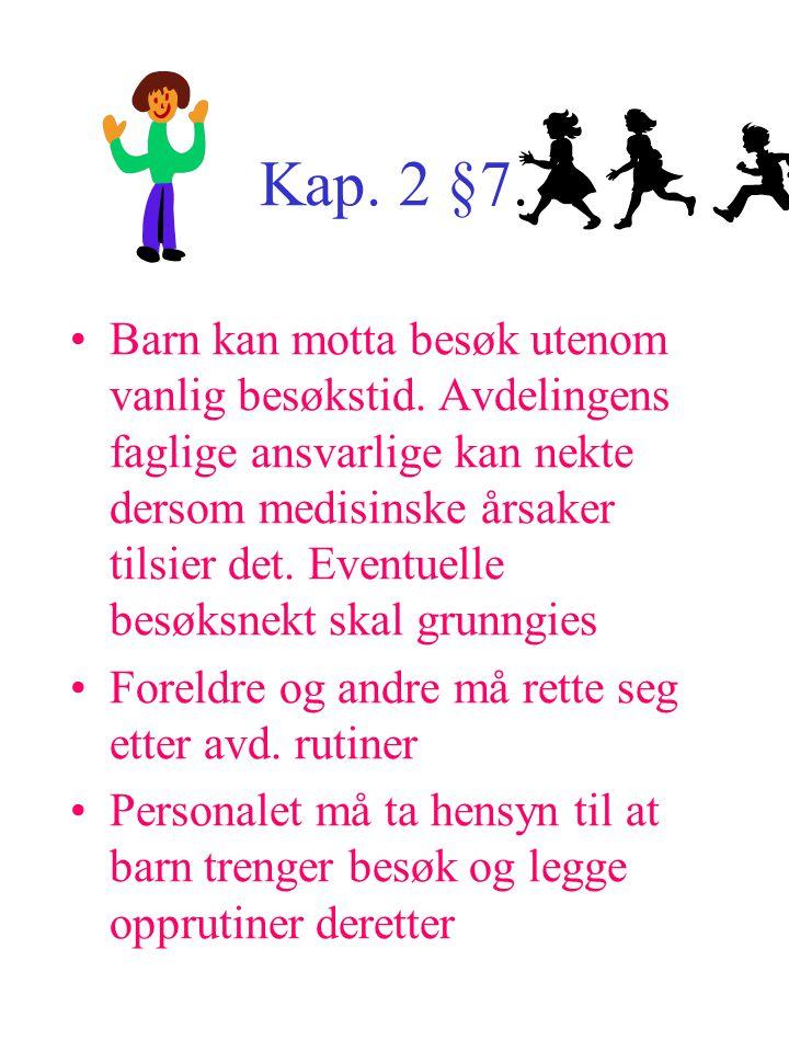 Kap. 2 §7.