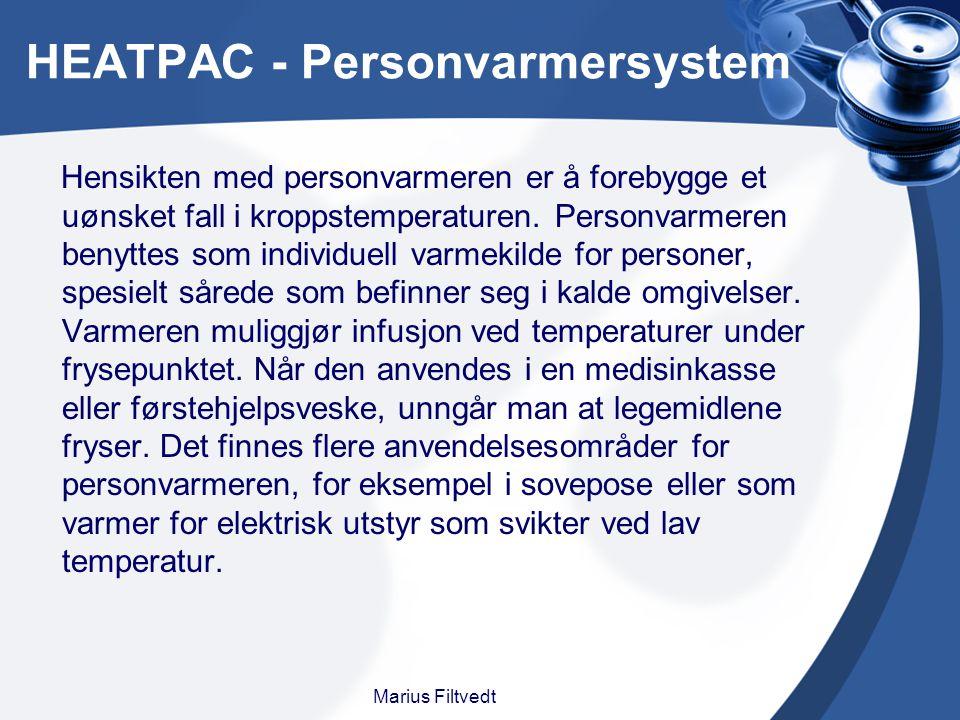 HEATPAC - Personvarmersystem