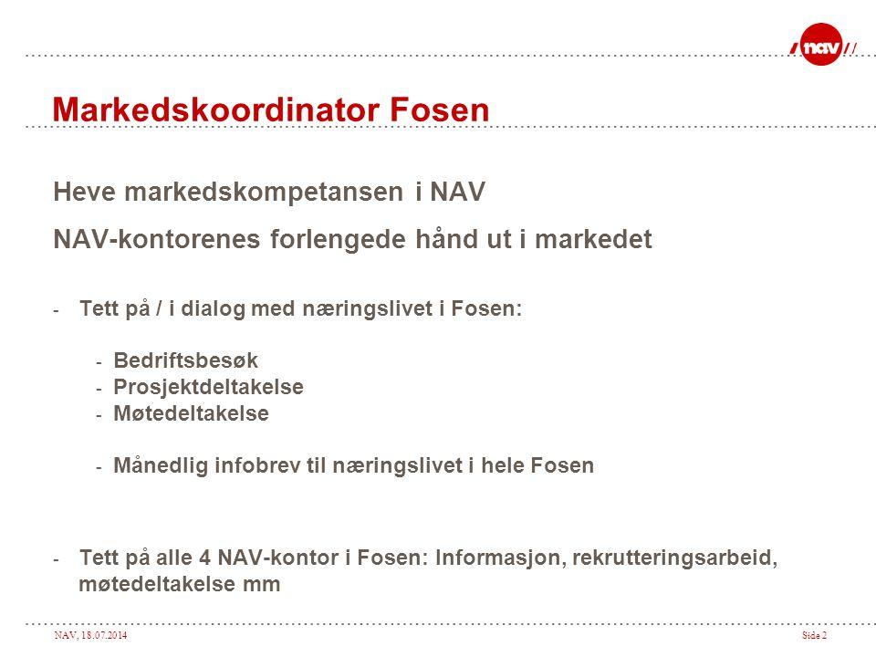 Markedskoordinator Fosen