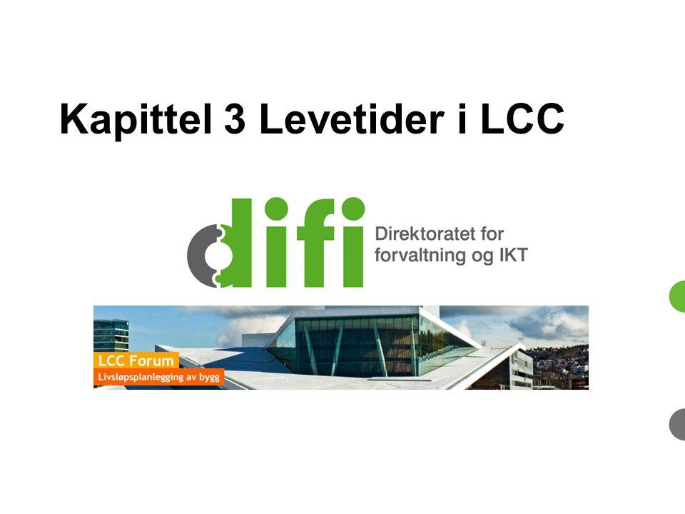 Kapittel 3 Levetider i LCC