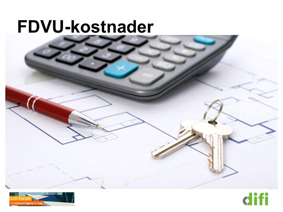 FDVU-kostnader Det totale kostnadsbildet