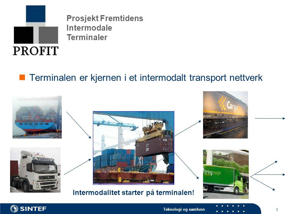 Intermodalitet starter på terminalen!