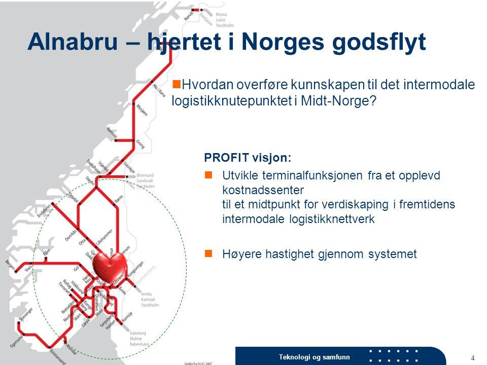 Alnabru – hjertet i Norges godsflyt
