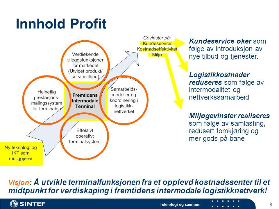 Innhold Profit Kundeservice øker som følge av introduksjon av nye tilbud og tjenester.