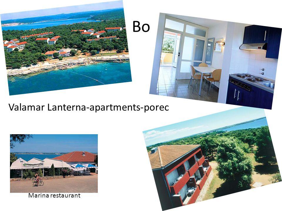 Bo Valamar Lanterna-apartments-porec Marina restaurant