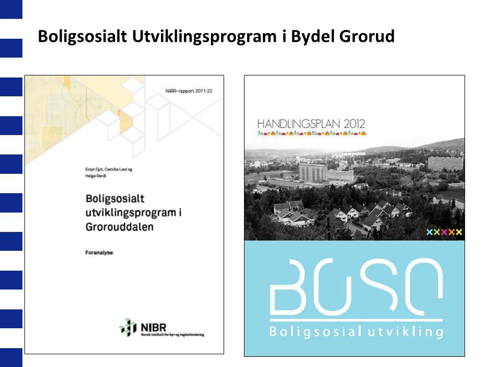Boligsosialt Utviklingsprogram i Bydel Grorud