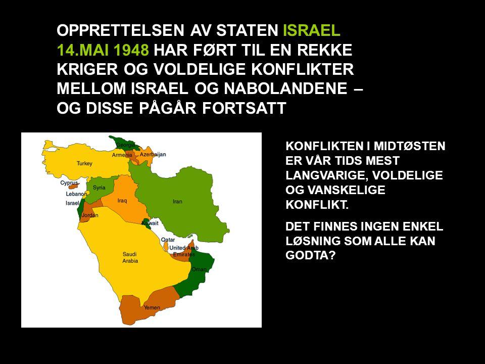 OPPRETTELSEN AV STATEN ISRAEL 14
