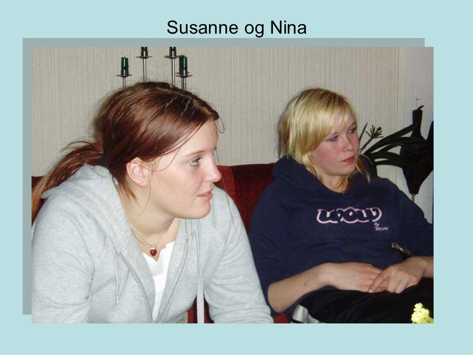 Susanne og Nina