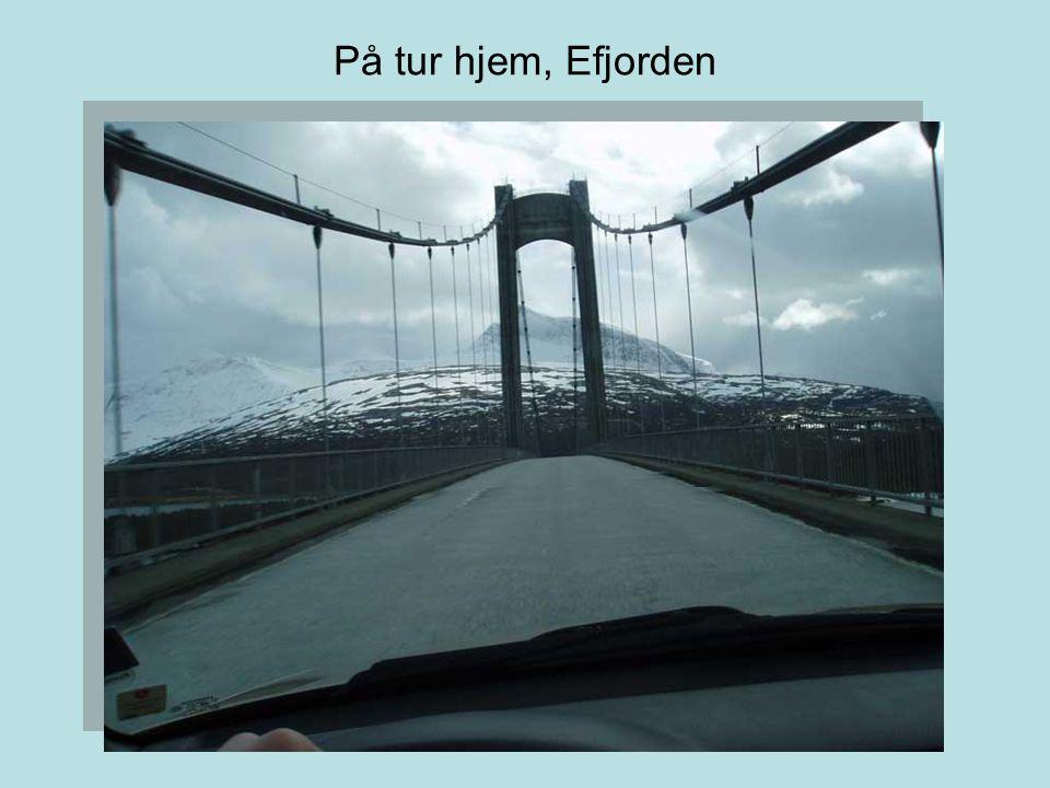 På tur hjem, Efjorden