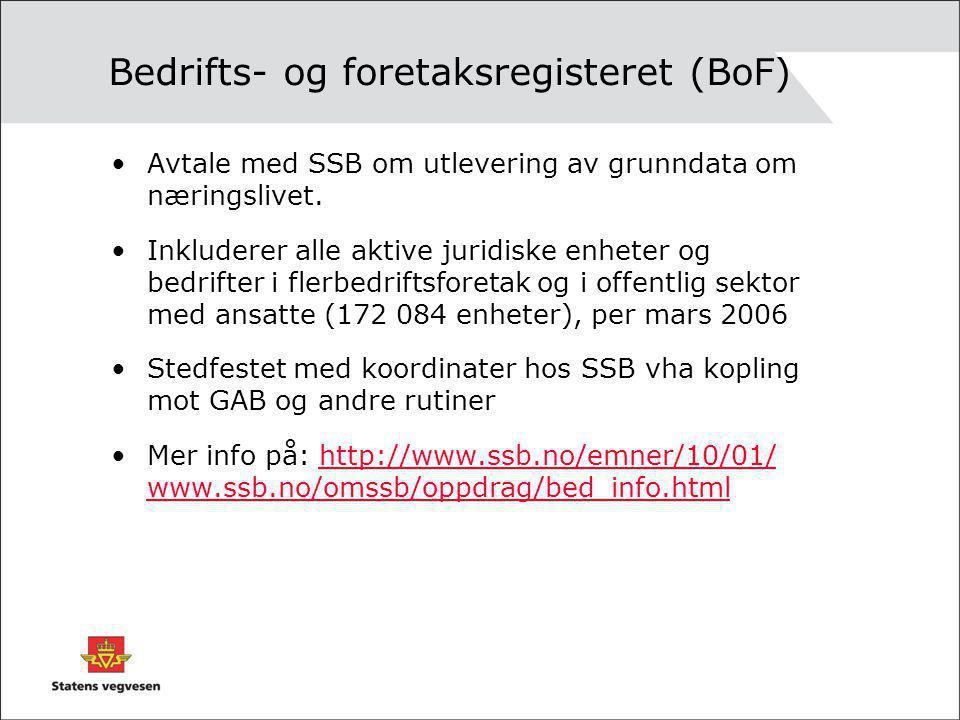 Bedrifts- og foretaksregisteret (BoF)