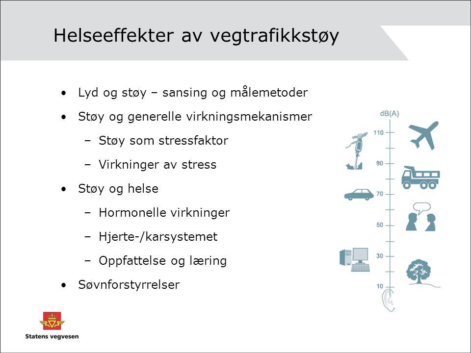 Helseeffekter av vegtrafikkstøy