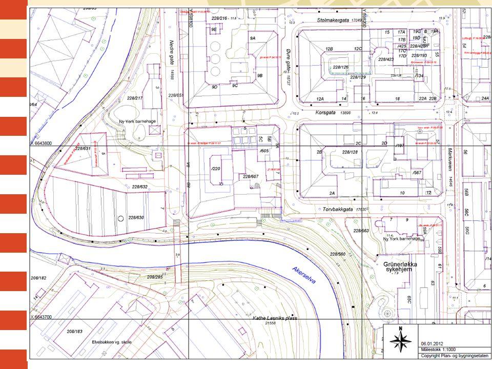 Kommunalteknisk kart, eksempel