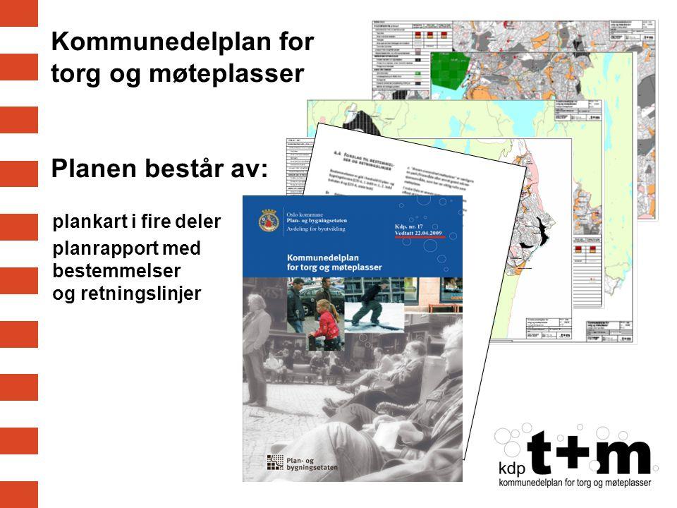 Kommunedelplan for torg og møteplasser