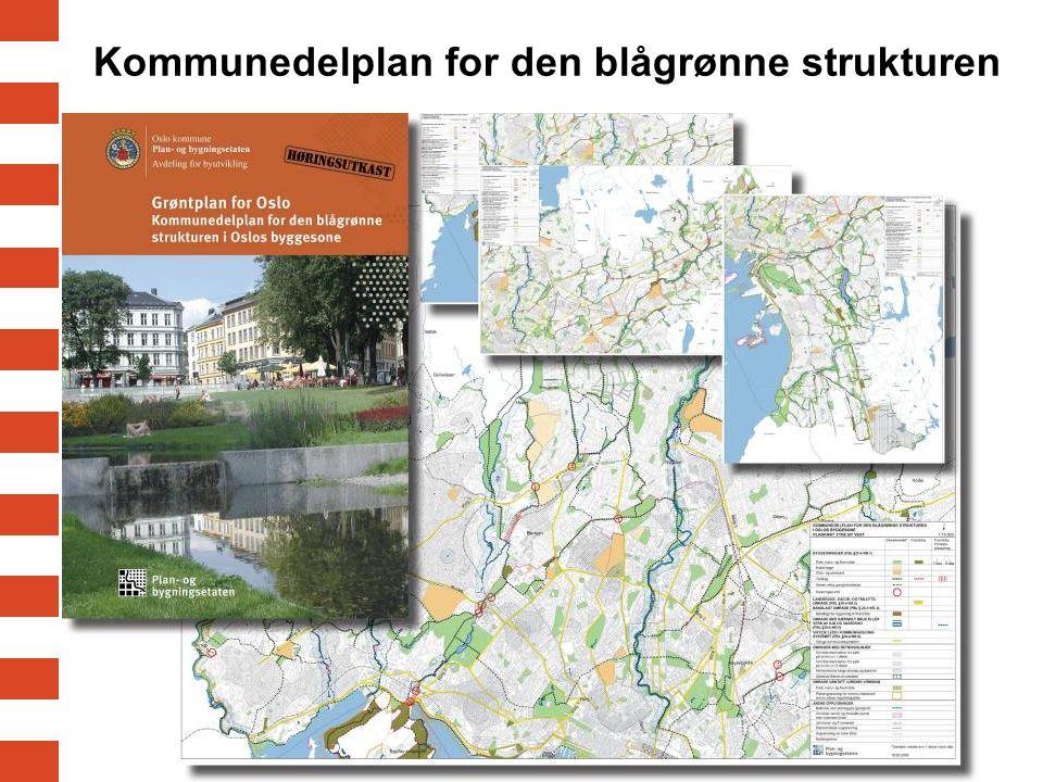 Kommunedelplan for den blågrønne strukturen
