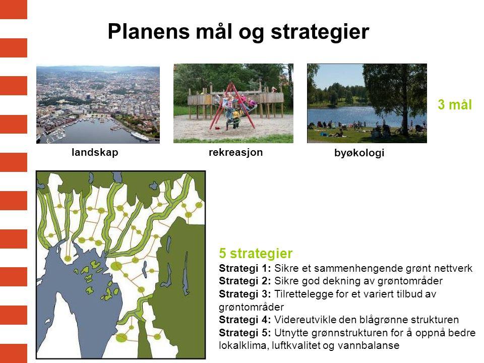 Planens mål og strategier