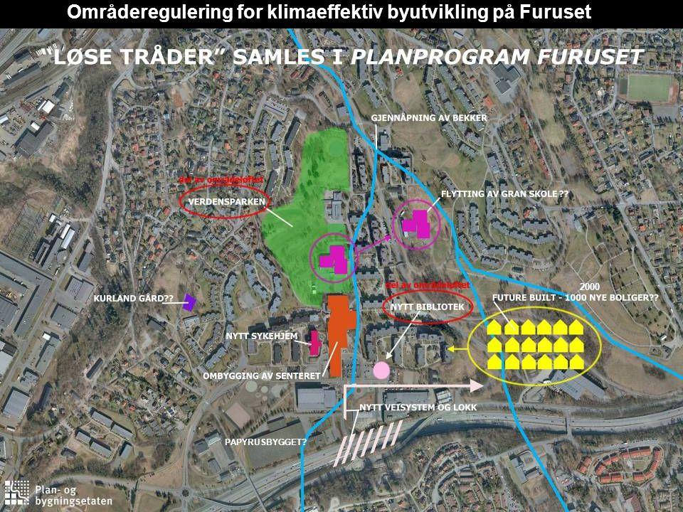 Områderegulering for klimaeffektiv byutvikling på Furuset