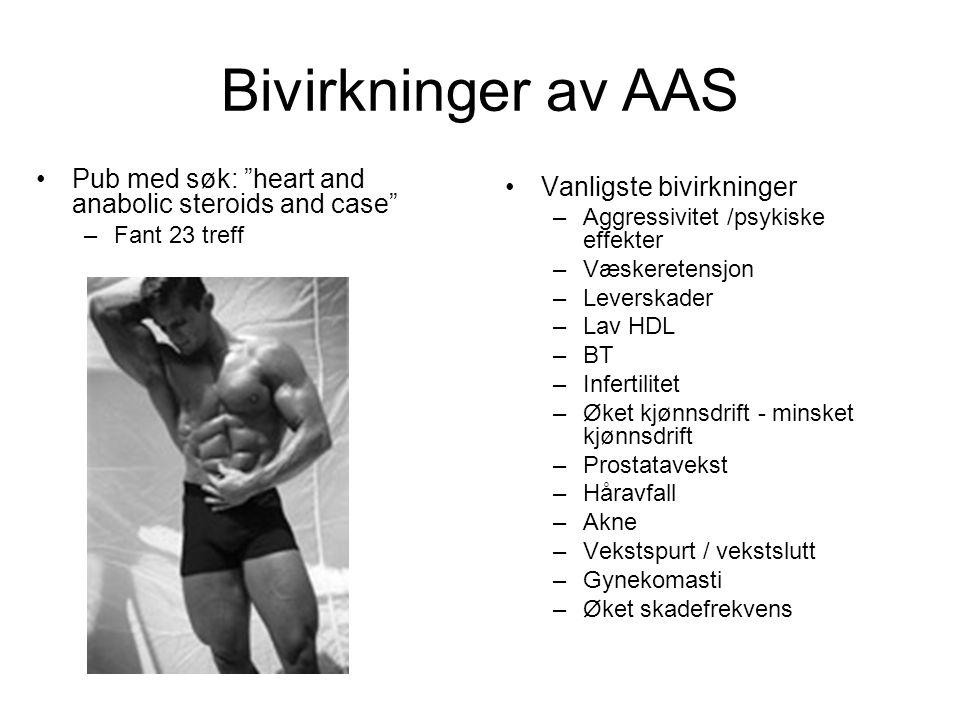 Bivirkninger av AAS Pub med søk: heart and anabolic steroids and case Fant 23 treff. Vanligste bivirkninger.