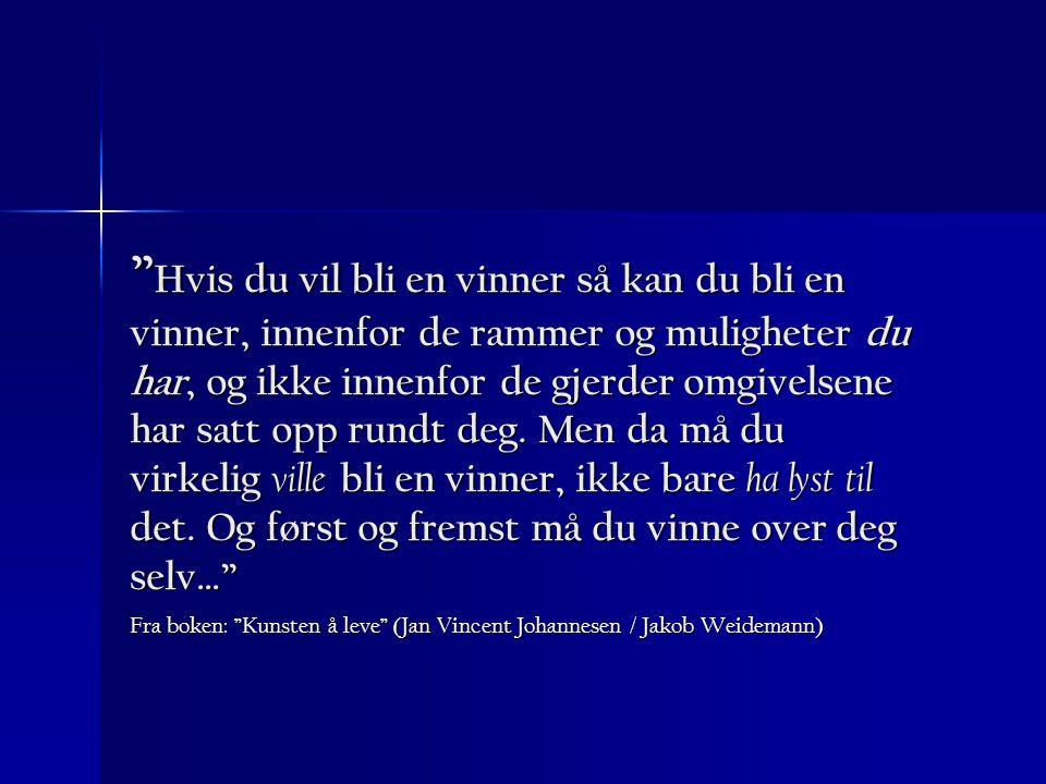 Fra boken: Kunsten å leve (Jan Vincent Johannesen / Jakob Weidemann)