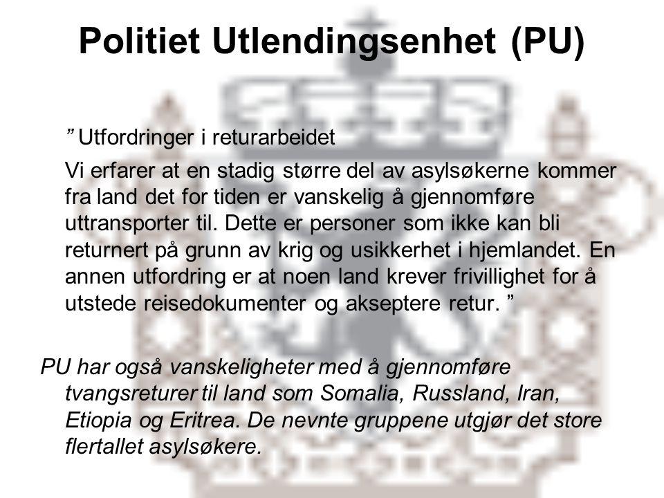 Politiet Utlendingsenhet (PU)