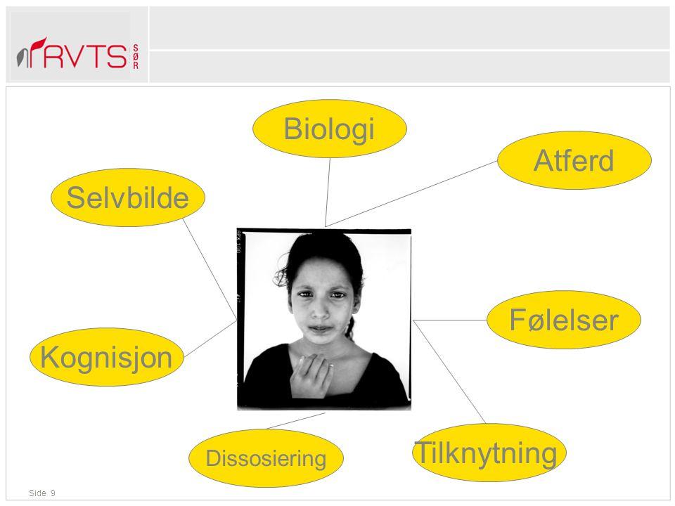 Biologi Atferd Selvbilde Følelser Kognisjon Tilknytning Dissosiering