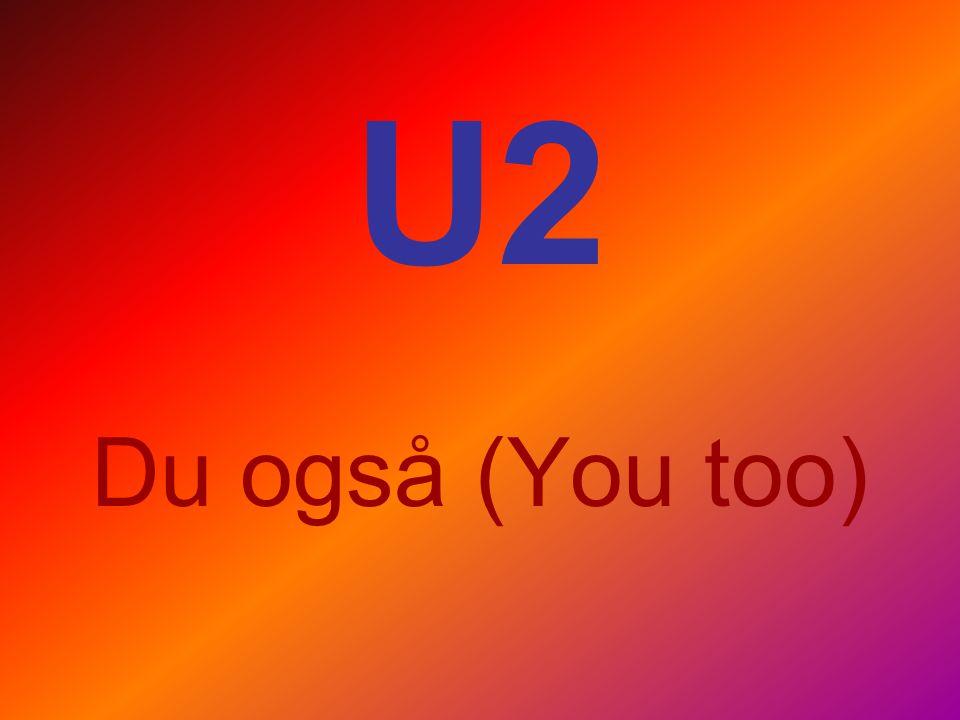 U2 Du også (You too)