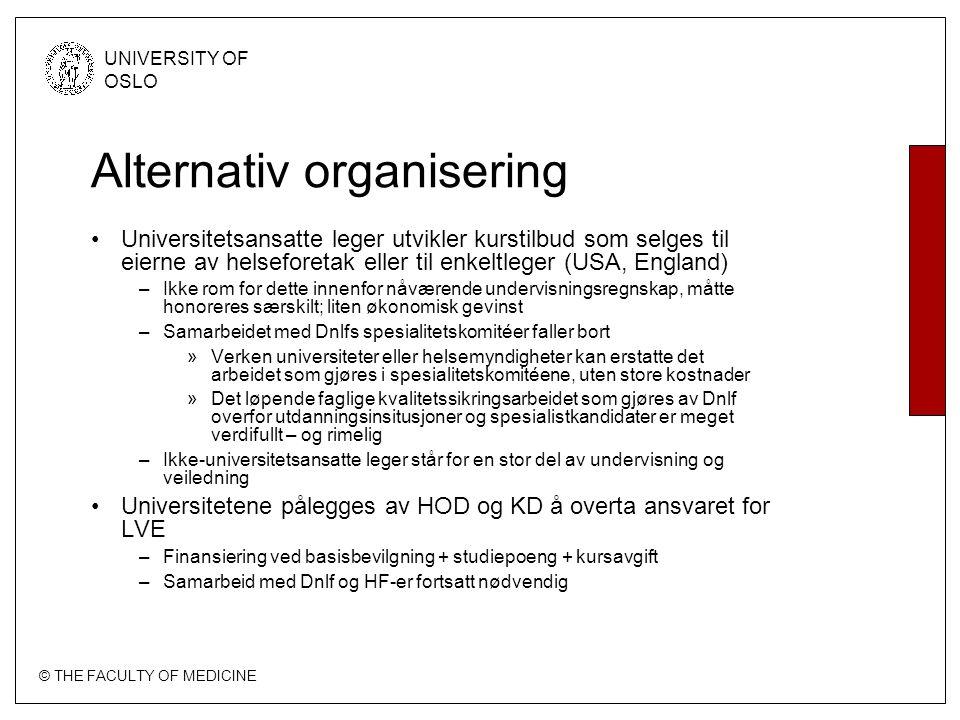 Alternativ organisering