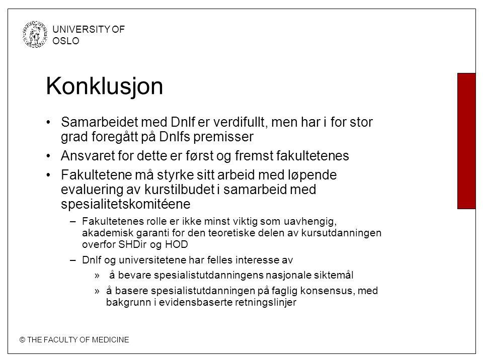 Konklusjon Samarbeidet med Dnlf er verdifullt, men har i for stor grad foregått på Dnlfs premisser.
