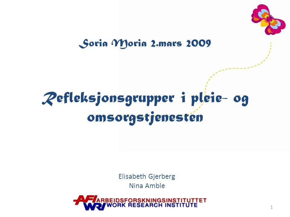 Elisabeth Gjerberg Nina Amble