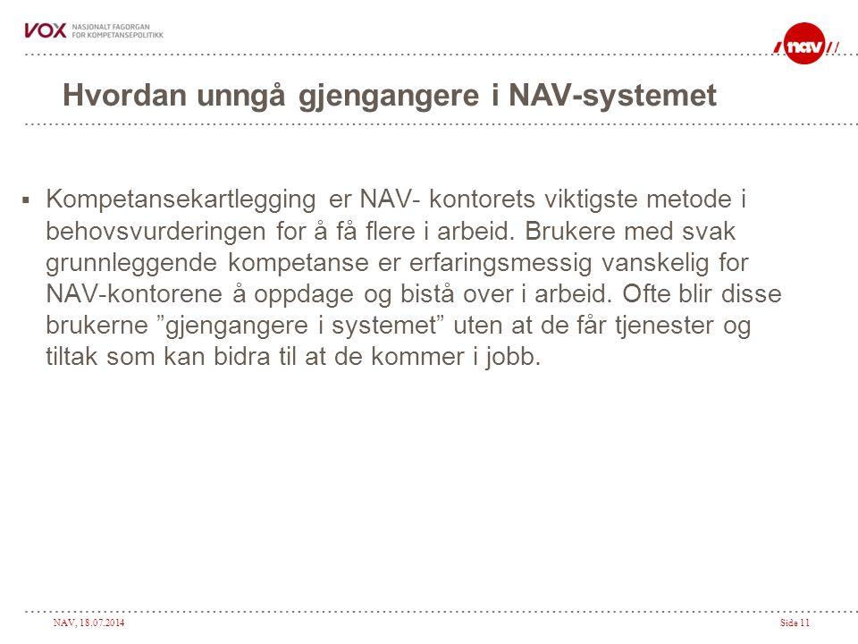 Hvordan unngå gjengangere i NAV-systemet