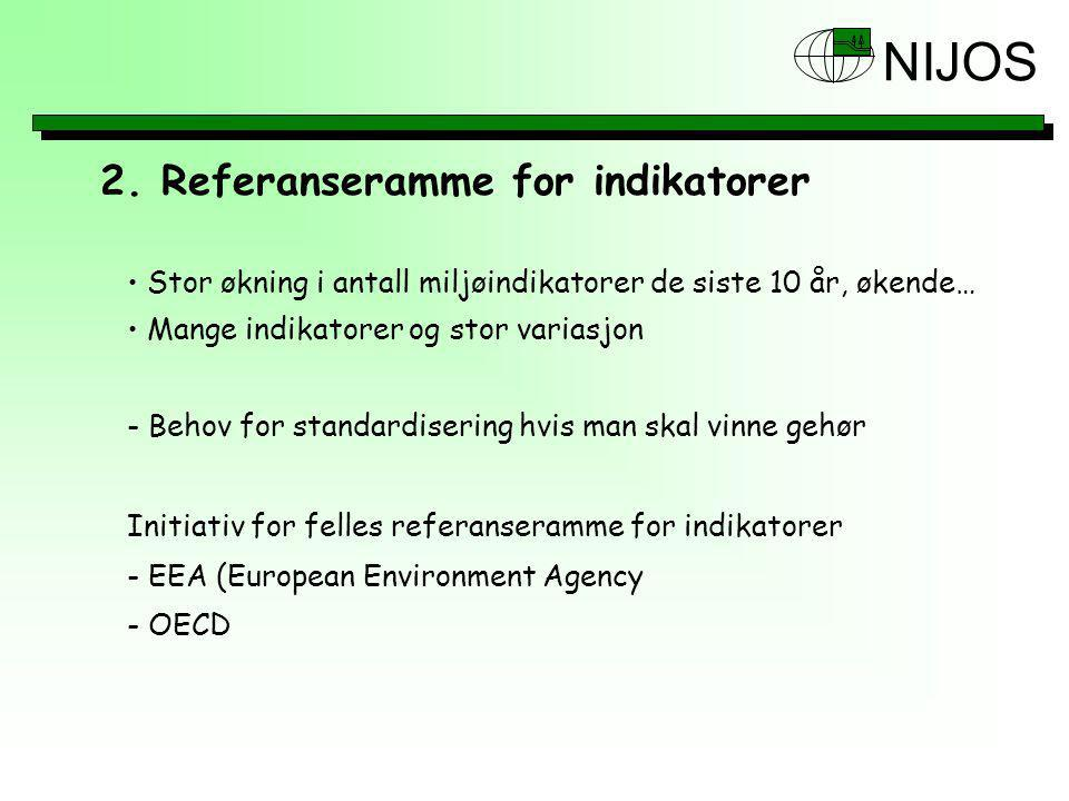 2. Referanseramme for indikatorer
