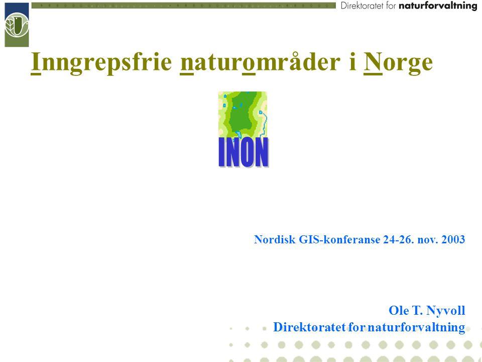 Inngrepsfrie naturområder i Norge
