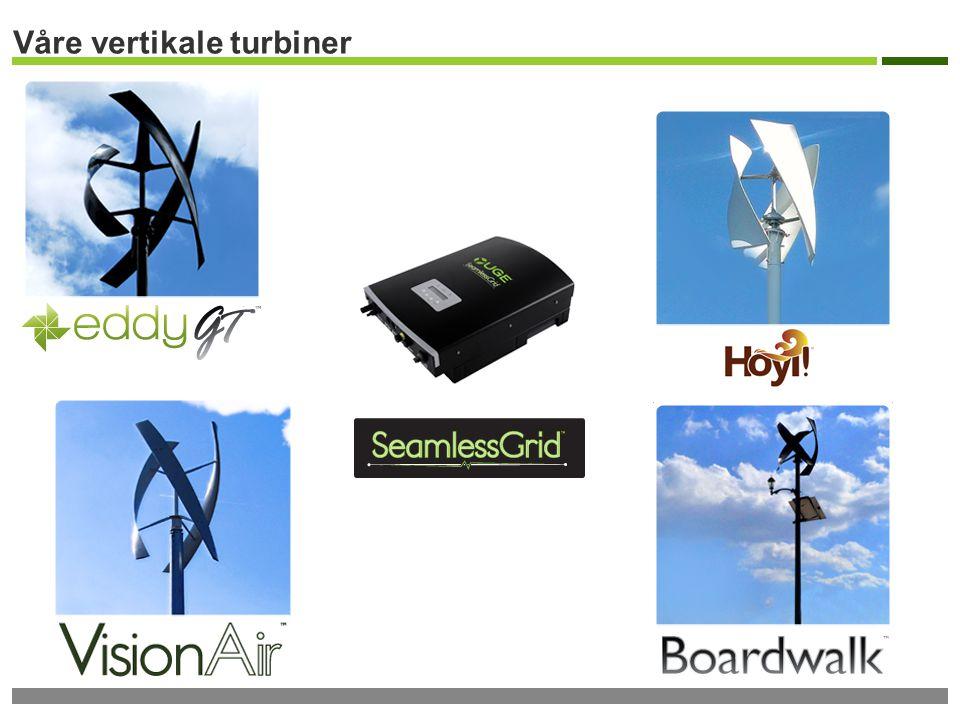 Våre vertikale turbiner
