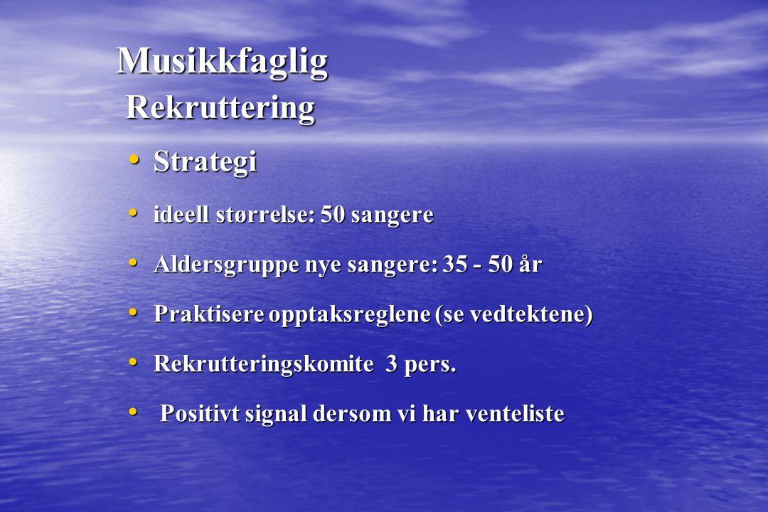 Musikkfaglig Heving av kvalitet