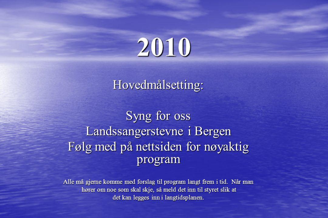 Høst 2009 Seminar august Åsane kulturfest november