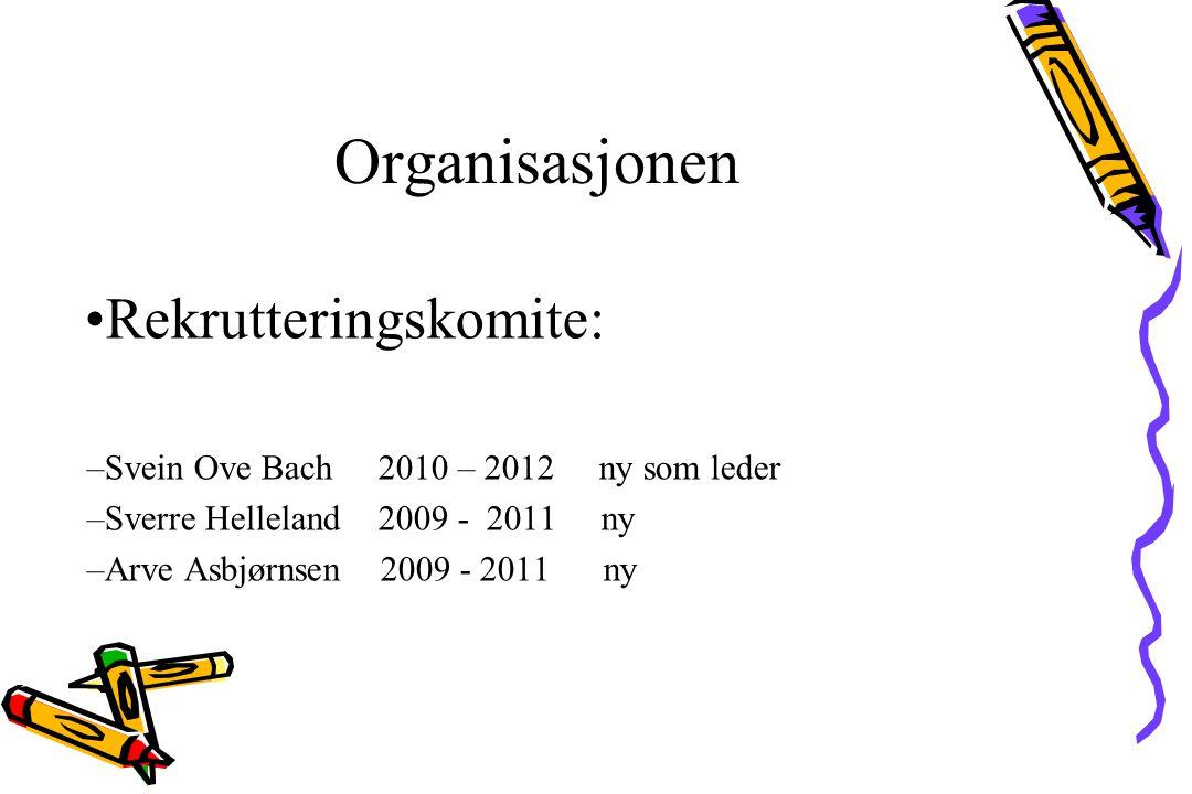 Organisasjonen Musikkutvalg : Arve Asbjørnsen 2010 - 2012.