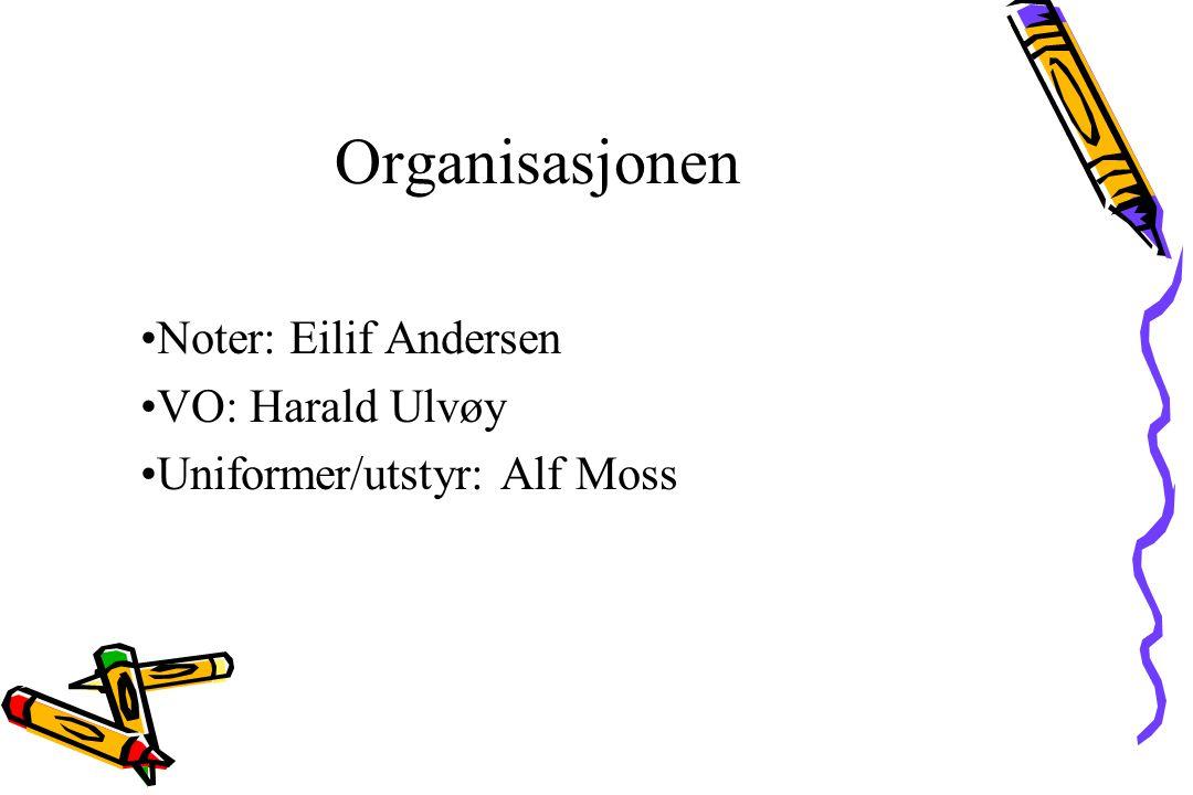 Organisasjonen Stemmeledere : 1. tenor : Norvald Morvik 2009 - 2011