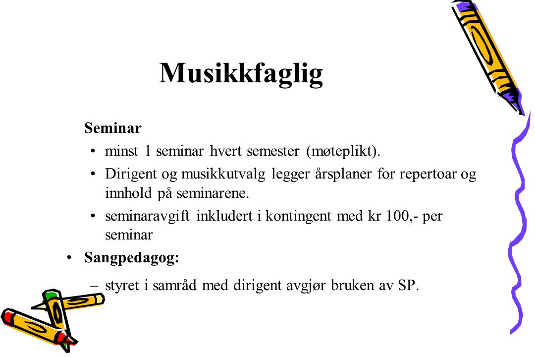 Musikkfaglig Rekruttering