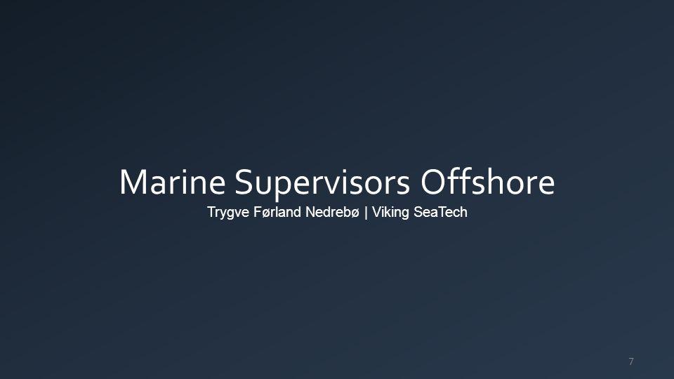 Marine Supervisors Offshore