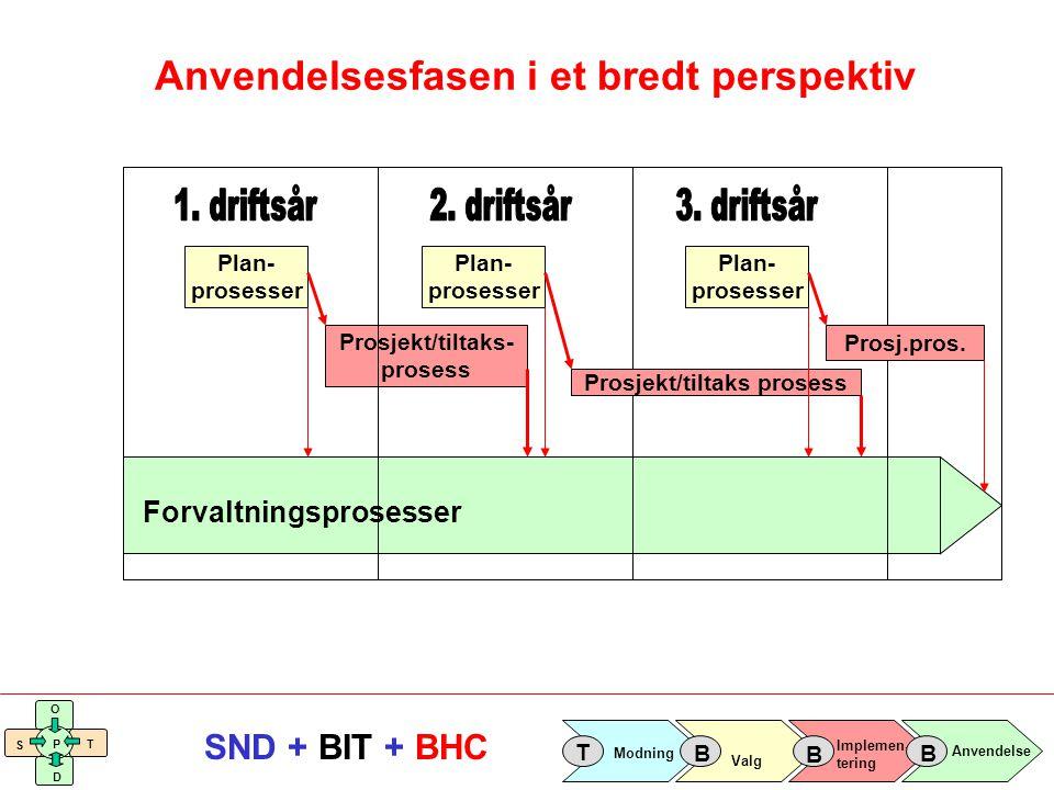Anvendelsesfasen i et bredt perspektiv