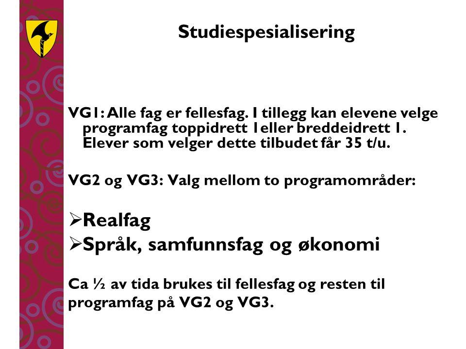 Studiespesialisering