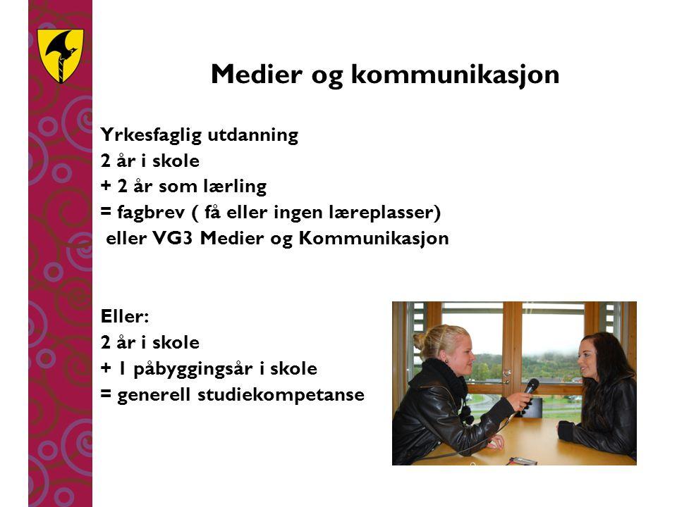 Medier og kommunikasjon