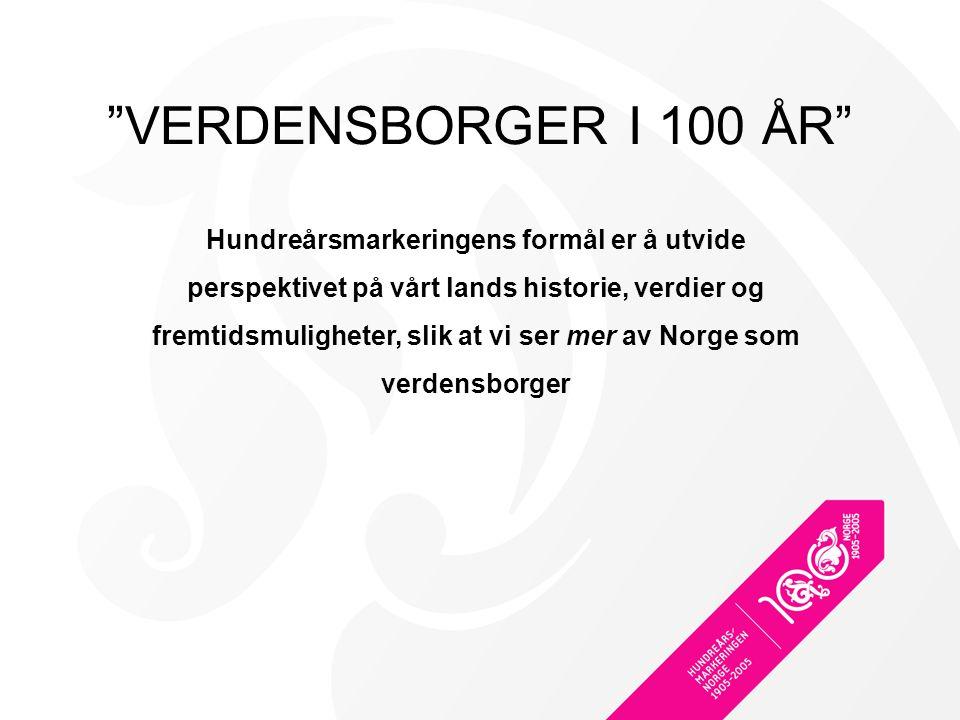 VERDENSBORGER I 100 ÅR